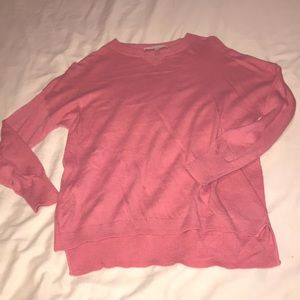 Perfect girly barbie pink philosophy sweater XS